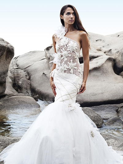wunderschöne Brautkleider von Anna Romysh